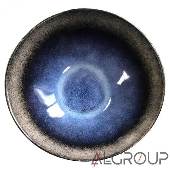 купить Салатник 19,5х6,5 см, Синий метеорит