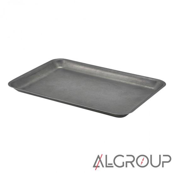купить Поднос, 31.5x21.5x2 см, Vintage Steel, GenWare