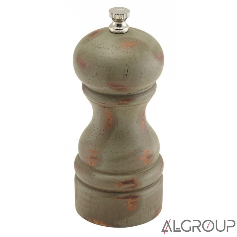 мельница для соли и перца 13 см деревянная античная Genware