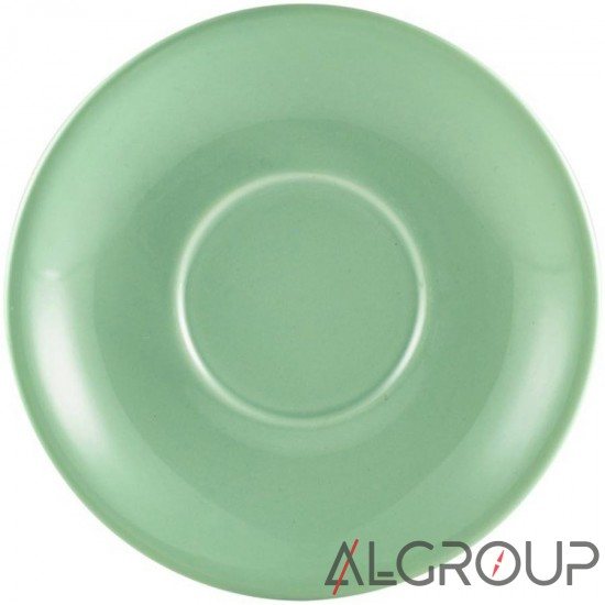 купить Блюдце 13,5 см зеленое, Color Tea, GenWare